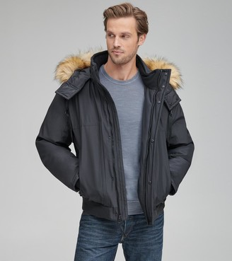 Marc New York   Final Sale Lowell Water Resistant Synthetic Down