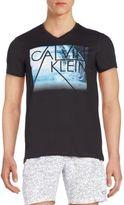 Calvin Klein Solid Water Graphic Tee