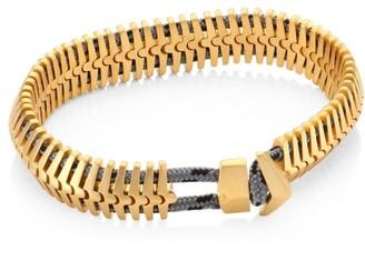 Miansai Brass Klink Bracelet