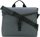 Emporio Armani flap messenger bag - men - Nylon/PVC - One Size