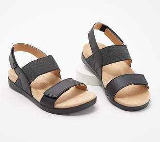 Spenco Orthotic Adjustable Back-Strap Sandals-Sanabel