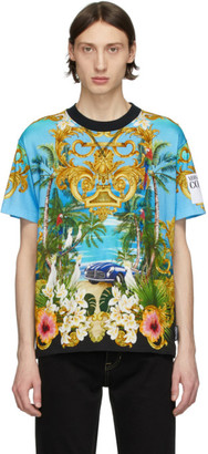 Versace Multicolor Barocco Jungle T-Shirt