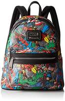 Loungefly Marvel Character Aop Mini Fashion Backpack