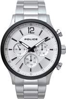 Police Police Feral White Multi Dial Stainless Steel Bracelet Gents Watch