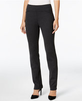 Charter Club Petite Cambridge Tummy-Control Ponte Leggings, Only at Macy's