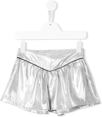 Zadig & Voltaire Kids Pleated Running Shorts