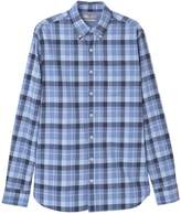 MANGO Men's Slim-fit check shirt