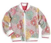 Andy & Evan Little Girl's & Girl's Reversible Bomber Jacket