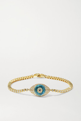 Lorraine Schwartz - 18-karat Gold Multi-stone Bracelet