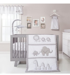 Trend Lab Chevron Safari 3-Piece Crib Bedding Set Bedding