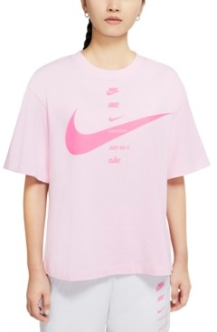 Nike Women's Sportswear Cotton Swoosh T-Shirt