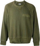 R 13 pocket detail sweatshirt