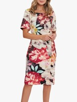 Thumbnail for your product : Gina Bacconi Lee Floral Midi Dress, Multi