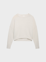 DKNY Pure Oversized Cashmere Pullover
