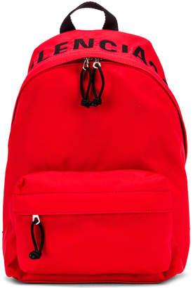 Balenciaga Small Wheel Backpack in Bright Red & Black | FWRD