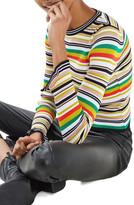 Topshop Hyper Stripe Sweater