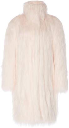 Philosophy di Lorenzo Serafini Oversized Faux Fur Coat