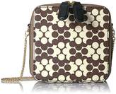 Orla Kiely Textured Vinyl Flower Wave Mini Poppy Bag