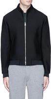 Armani Collezioni Mesh jersey track jacket