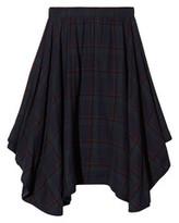 Suno Tartan Handkerchief Skirt