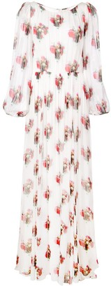Adam Lippes Floral Maxi Dress