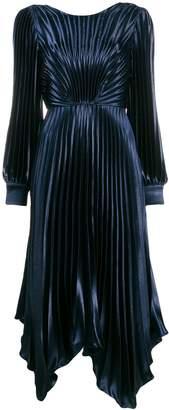 Sandro Paris Venezia pleated dress
