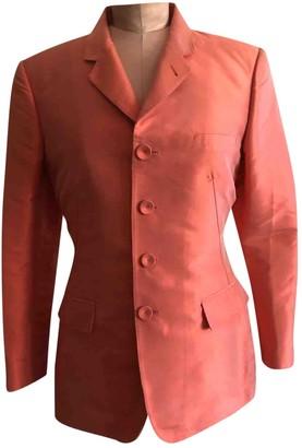 Jean Paul Gaultier Orange Silk Jacket for Women Vintage