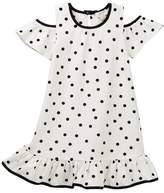 Kate Spade cold shoulder dress (Big Girls)