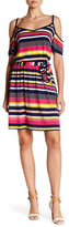 Laundry by Shelli Segal Printed Matte Dress