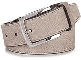 Cole Haan Large Grain Nubuck Leather Belt