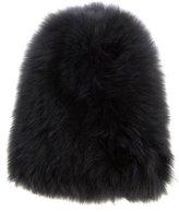 Yves Salomon Rabbit Fur Beanie