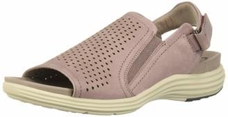 Aravon Women's Beaumont Peep Sling Wedge Sandal