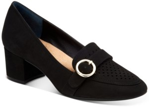 Giani Bernini Inndee Perforated Loafers, Created for Macy's Women's Shoes