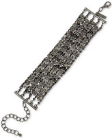 INC International Concepts Hematite-Tone Chain Link Bracelet, Only at Macy's
