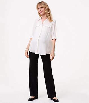 LOFT Petite Maternity Trousers