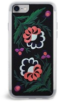 Zero Gravity Belle Embroidered iPhone 7 Case