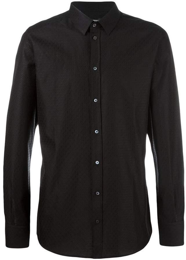 Dolce & Gabbana diamond patterned shirt