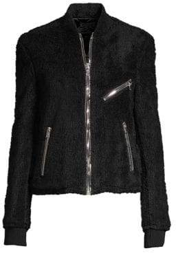 RtA Phoenix Faux Shearling Jacket