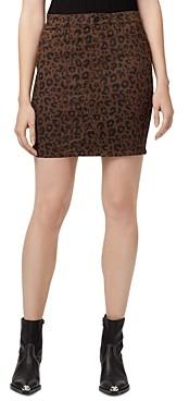 Sanctuary Sia Leopard Print Skirt