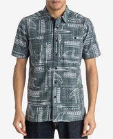 Quiksilver Waterman's Foundation Nautical Print Shirt