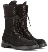 Rick Owens Army Suede Boots