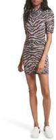 Free People Women's Take Me Out Jacquard Body-Con Dress