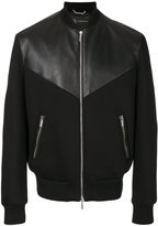 Versace Medusa head bomber jacket - men - Cotton/Leather/Cupro/Viscose - 46