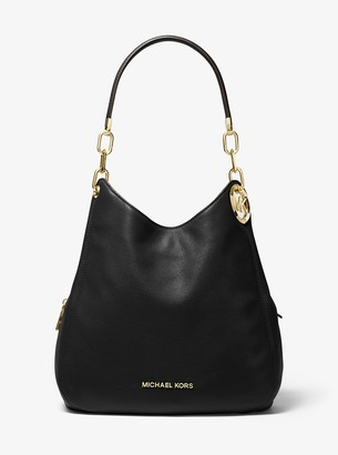 MICHAEL Michael Kors Lillie Large Pebbled Leather Shoulder Bag