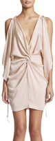 Shona Joy Twist Kimono Mini Dress