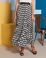 Fashion World Spot Sunray Pleat Maxi Skirt