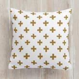 Minted Modern Math Square Pillow