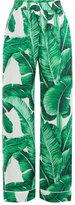 Dolce & Gabbana Silk Banano Print Pajama Pants