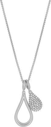 Dean Davidson Double Teardrop Charm Necklace