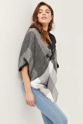 Ardene Heavy Buttoned Poncho